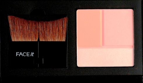 THE FACE SHOP FACE IT 1-TOUCH BLUSHER KIT